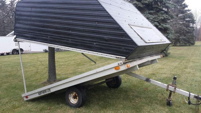 Modular Atv Trailers : Enclosed place snowmobile trailer for sale in essexville