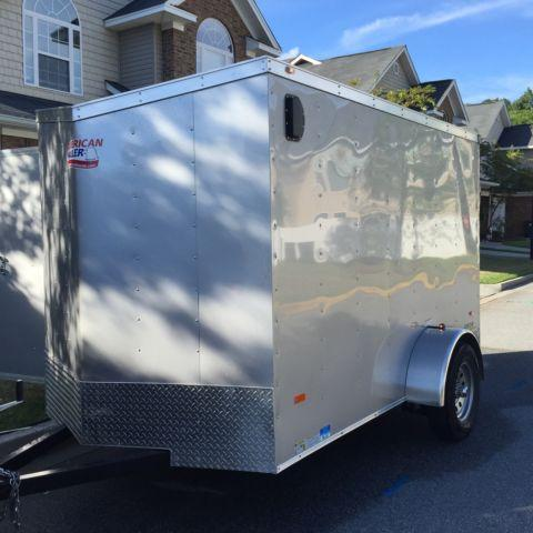Enclosed cargo trailer travel trailer in savannah ga for Trailer rental savannah ga