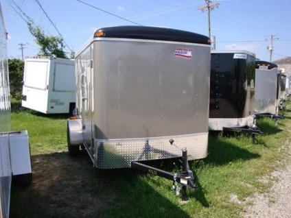 Enclosed Trailer 6 x 10 Ramp Door Side Door