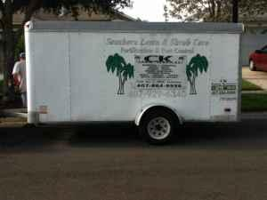 Enclosed trailer 6 x 12 - $1500 (E Orlando)
