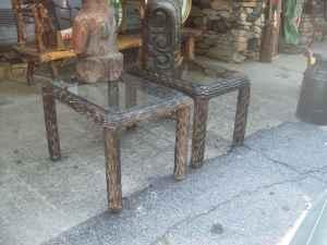 End tables - $40 (Hendersonville)