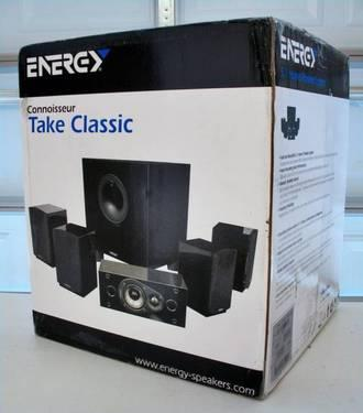 Energy Take Classic 5 1 Home Theater Speaker System