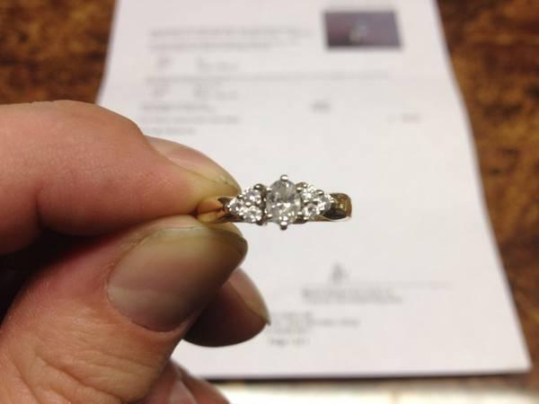 Engagement Ring - $450