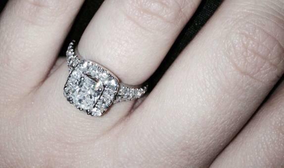 Engagement ring set - $5000