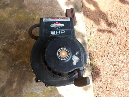 Engine 8 0hp Briggs And Stratton For Snapper Rear Engine Riding Mower