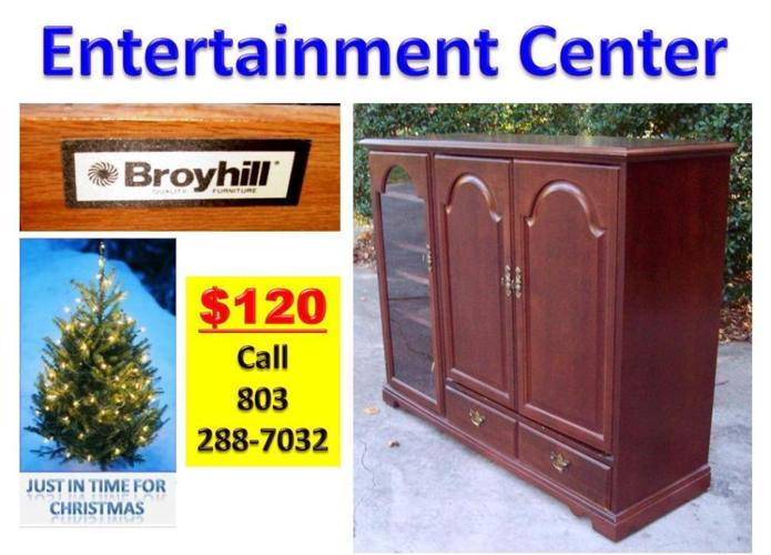 Entertainment Center Made By Broyhill Lancaster Sc