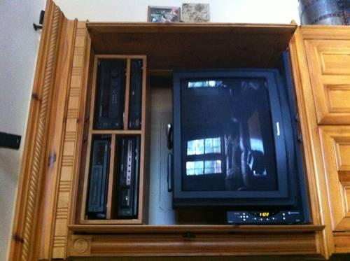 ENTERTAINMENT CENTER (STORAGE UNIT)