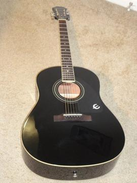 Epiphone AJ-100 Acoustic Guitar with Case