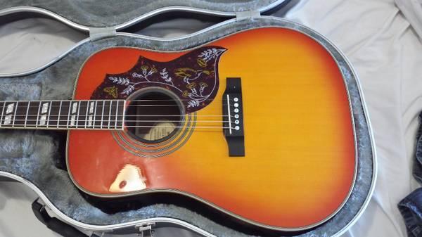 Epiphone Hummingbird Pro Acoustic - $250