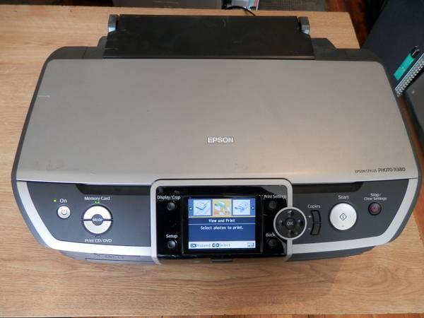 Epson Stylus Photo R380 Printer Descargar Controlador