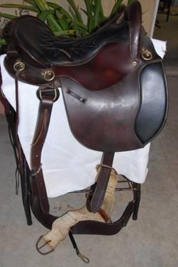 Equitation Endurance Style Tucker Saddle for Sale in Norco