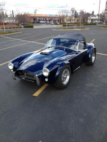 ERA 289 FIA Street Cobra NEW PRICE For Sale In Spokane Washington