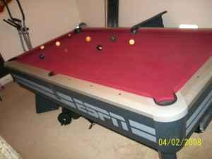 Espn Pool Table   $500 (greenfield)