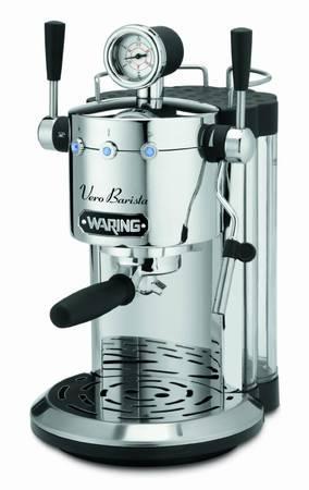 ESPRESSO MACHINE, Waring Professional, Vero Barista, NEWunopened box, - $300