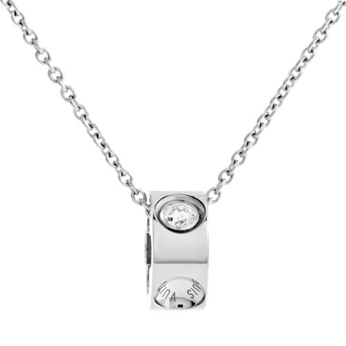 Estate Louis Vuitton Empreinte Women's 18K White Gold