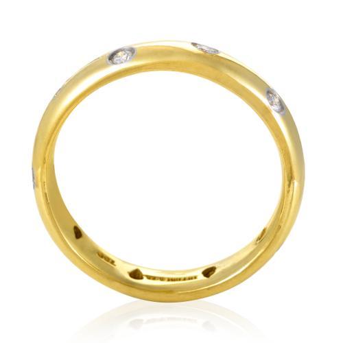Estate Tiffany & Co. Etoile Platinum & 18K Yellow Gold