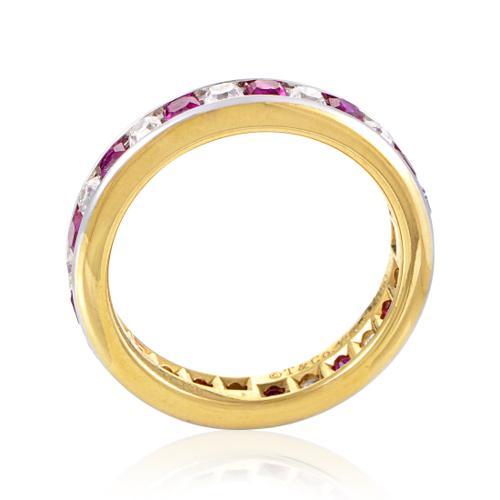 Estate Tiffany & Co. Women's Platinum & 18K Yellow Gold