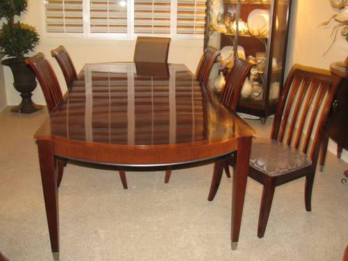 ethan allen avenue dining room table and chairs w