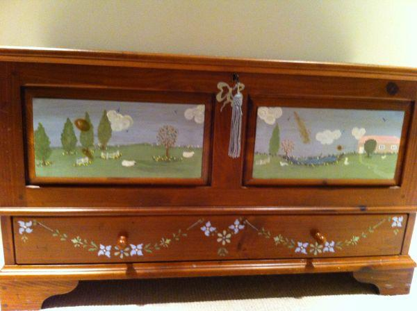 Ethan Allen Cedar Lined Chest For Sale In Los Altos