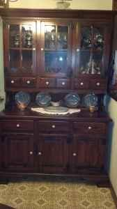 ETHAN ALLEN DARK PINE DINING ROOM SUITE - $795 (Lake