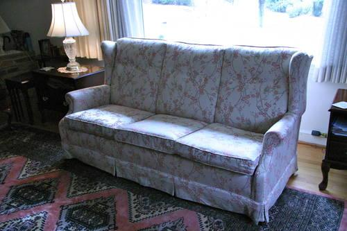 Ethan Allen Denim Sofa For Sale In Woodbridge Virginia