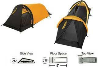 EUREKA SOLITAIRE 1 One Person Solo Expedition Tent  sc 1 st  Mill Hall - AmericanListed.com & EUREKA SOLITAIRE 1 One Person Solo Expedition Tent for Sale in ...