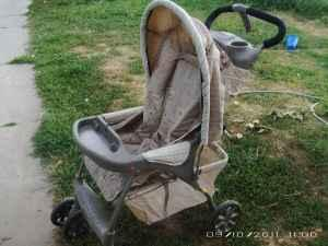 Evenflo Animal Print Stroller - $10 (Spanish Fork, UT)