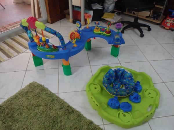 Evenflo Exersaucer Tropical Fish - $40
