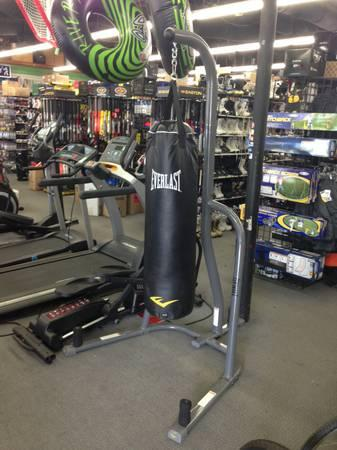 Everlast Heavy Bag Stand with 100lb Large Bag - $129
