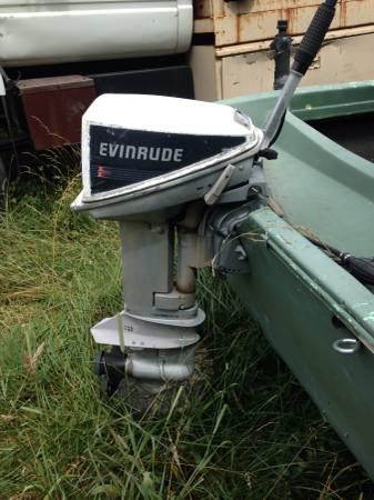 Evinrude 15 Hp >> Evinrude Boat Motor 15hp 4 Stroke For Sale In Penhook Virginia