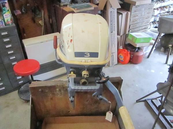 Evinrude Lightwin 3 h p  for sale,clean! - $250