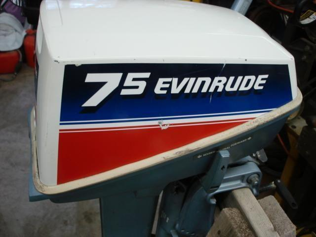 Evinrude Outboard Motor 7 5 Hp For In Lake Saint Louis