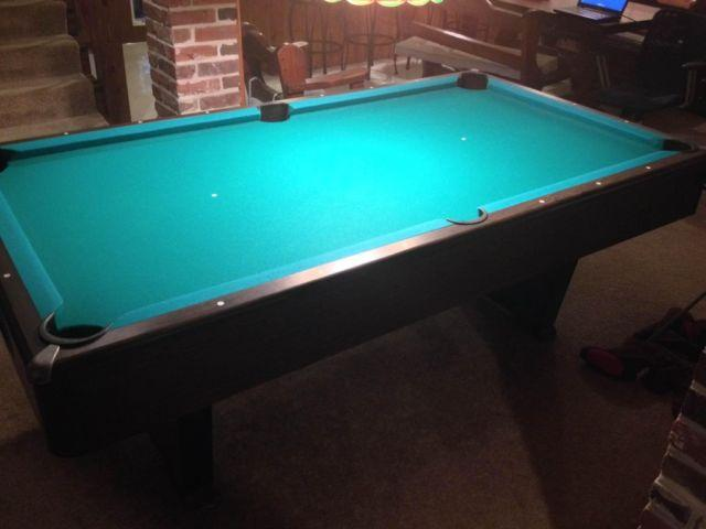 Excellent Condition 7 39 Sears Brandywine III Pool Table For Sale In .