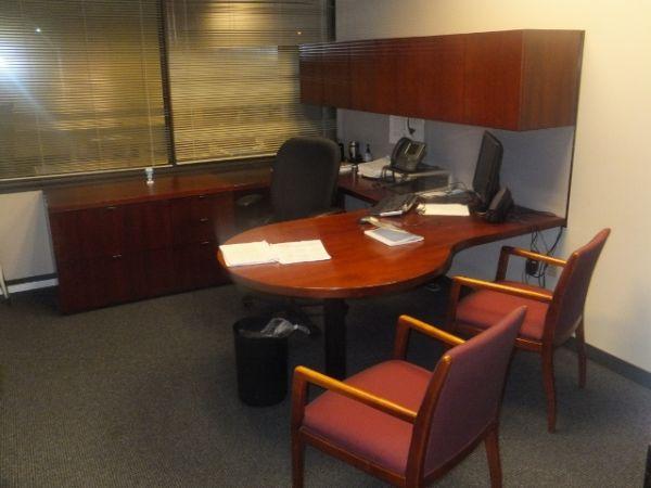 Executive Desks 250 Kimball Footprint U Shaped Desk Sets Beautiful For Sale In Tuscaloosa