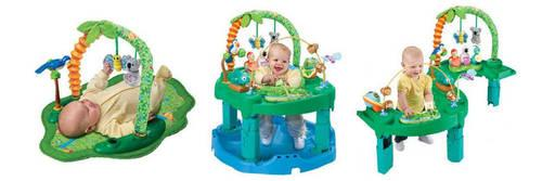 evenflo exersaucer jungle quest manual