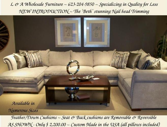 Experience Luxurious SECTIONALS & SOFAS for LESS ~ True ...