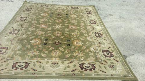 Exquisite Hand Knotted Carved Chinese Aubusson Wool Rug 5 X 7 For