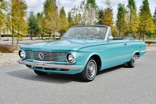 Extra Clean 1964 Plymouth Valiant Convertible