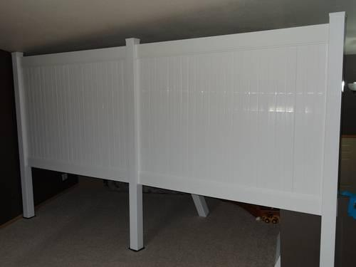 Extra Heavy Commercial Grade Vinyl Fence 6x8 Privacy W
