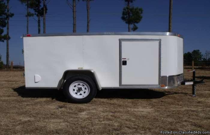 Extreme Low Profile 5x10 Cargo Trailer For Sale In