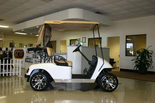 EZ-GO PDS electric golf cart! 36 VOLT NEW TROJAN