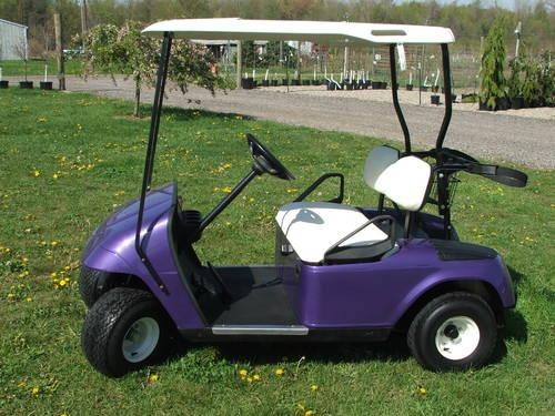 Ezgo Electric Golf Cart ~ Raspberry Metallic - $2049