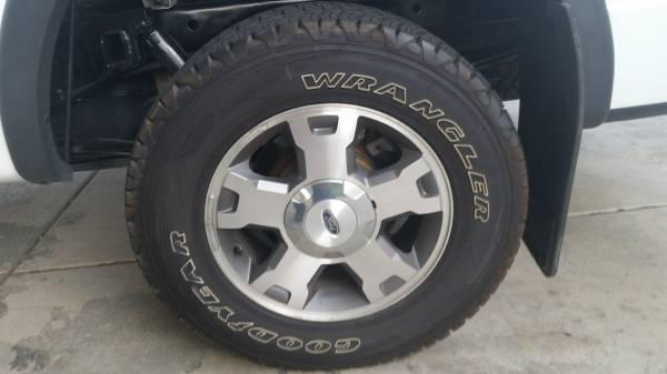 f150 wheels and tires - $400