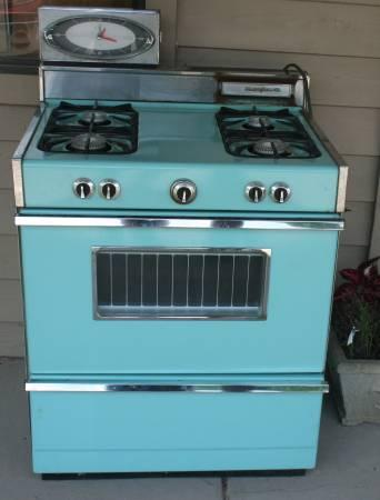 Fabulous Turquoise Blue Gas Stove For Sale In Athens Ohio