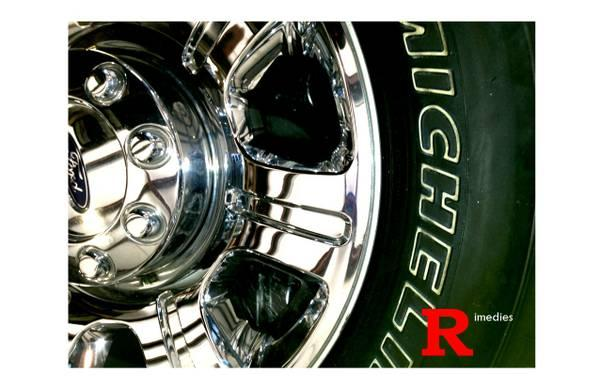 FACTORY 2013 FORD F-250 20 CHROME WHEELS - $1200