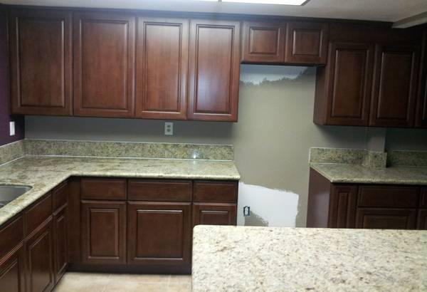 Factory Direct All Wood Dark Chocolate Kitchen Cabinets For 10x10 Kitc 1580