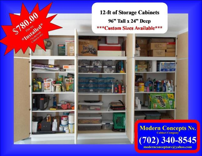 Factory Direct Garage Cabinets By Modern Concepts Nv For Sale In Las Vegas Nevada Classified