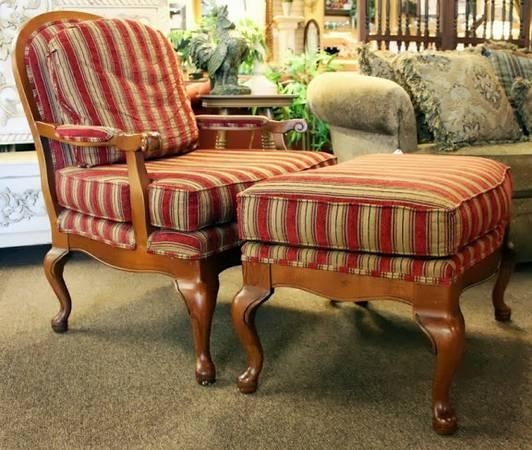 Fairfield French Bergere Arm Chair Amp Ottoman For Sale In