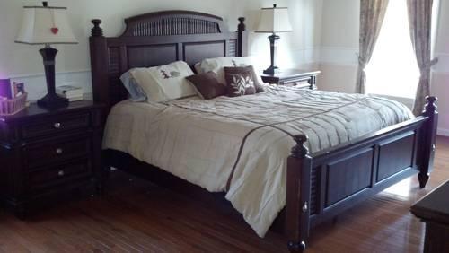 Fairmont Designs King Bedroom Furniture Armoire Dresser