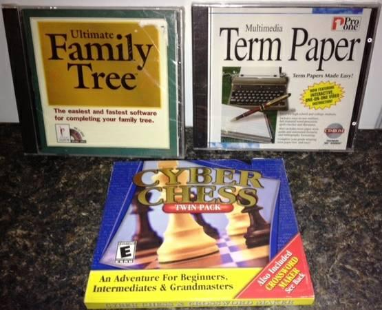 Family Tree, Term Paper, Cyber Chess Software - $15